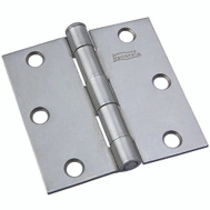 National Hardware N139-808 Removable Pin Broad Hinge 3 Inch Weldable Plain Steel Bulk