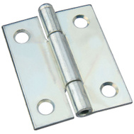 National Hardware N141-820 Removable Pin Narrow Hinge 2 By 1-9/16 Inch Zinc Plated Steel Bulk