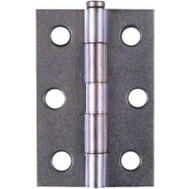 National Hardware N141-945 S752-072 Removable Pin Narrow Hinges 2-1/2 Inch Zinc Plated Steel 2 Pack