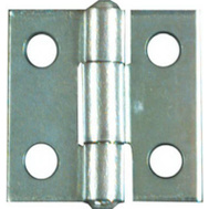 National Hardware N145-920 1 By 1 Inch Zinc Narrow Hinges 2 Pack