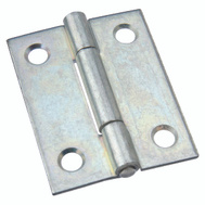 National Hardware N146-142 N146-134 S113-500 Non-Removable Pin Narrow Hinge 2 Inch Zinc Plated Bulk