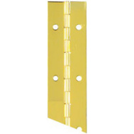 National Hardware N148-155 Continuous Hinge 1-1/2 By 30 Inch Bright Brass Plated Steel