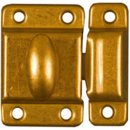 National Hardware N149-625 Cupboard Turn Brass Plated Steel