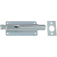 National Hardware N151-027 Foot Bolt 6 Inch Zinc Plated Steel