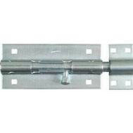 National Hardware N151-167 Extra Heavy Padlockable Barrel Bolt 8 Inch Zinc Plated Steel