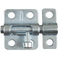National Hardware N151-225 2 Inch Window Bolt Zinc Plated Steel