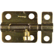 National Hardware N151-480 Barrel Bolt 2-1/2 Inch Brass Finish