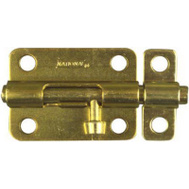 National Hardware N151-589 Barrel Bolt 3 Inch Brass Finish Steel