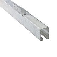 National Hardware N153-486 Rail Face Mount Box Galvanized 8 Feet