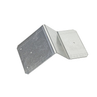 National Hardware N154-740 Flashing Bracket Galvanized Steel For 3-1/2 Inch Mounting Board