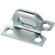 National Hardware N155-820 Safety Hasp Staple Only 1-5/8 By 1-1/4 Inch Zinc Plated Steel