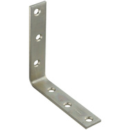 National Hardware N220-152 5 By 1 Inch Zinc Plated Steel Corner Brace Bulk