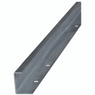 National Hardware N160-481 Bottom Guide Rail 72 Inch Galvanized Steel