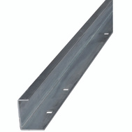 National Hardware N160-499 Bottom Guide Rail 96 Inch Galvanized Steel
