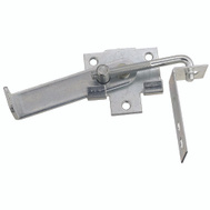National Hardware N160-754 Jamb Latch 4 Inch Hook Cam Action Zinc Plated Steel