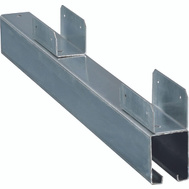 National Hardware N161-448 Continuous Bottom Guides 96 Inch For 1-1/2 Inch Lateral Doors