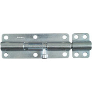 National Hardware N162-388 Heavy Padlockable Barrel Bolt 6 Inch Zinc Plated Steel