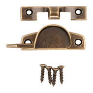 National Hardware N170-761 Sash Lock Antique Brass Finish