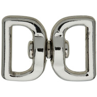 National Hardware N222-950 Strap Swivels 1 By 1 Inch Nickel Plated Zinc Die Cast