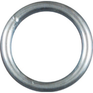 National Hardware N223-123 Welded Ring #7 By 1 Inch Zinc Plated Steel