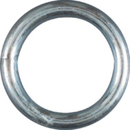 National Hardware N223-131 Welded Ring #4 By 1-1/4 Inch Zinc Plated Steel