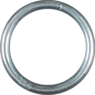 National Hardware N223-149 S640-023 Welded Ring #3 By 1-1/2 Inch Zinc Plated Steel