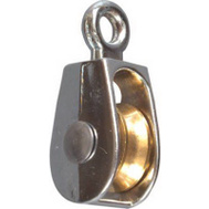 National Hardware N243-592 3/4 Inch No Rust Single Pulley
