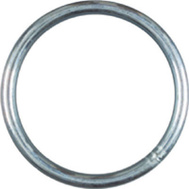 National Hardware N223-164 Welded Ring #2 By 2-1/2 Inch Zinc Plated Steel