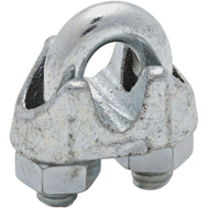 National Hardware N248-294 N268-482 1/4 Inch Zinc Cable Clamp