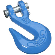 National Hardware N177-220 Clevis Grab Hook 5/16 Inch Blue Forged Steel