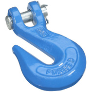 National Hardware N177-238 3/8 Inch Blue Clevis Grab Hook