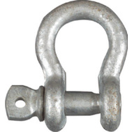 National Hardware N223-677 Anchor Shackle And Pin 5/16 Inch Galvanized Forged Steel