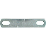 National Hardware N222-323 5/16 By 2 Inch Zinc U-Bolt Plate Only