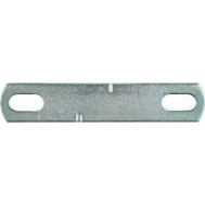 National Hardware N222-349 3/8 By 4 Inch Zinc U-Bolt Plate Only