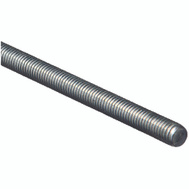 National Hardware N179-523 Threaded Steel Rod 7/16 Inch Zinc Plated 14 TPI By 36 Inch Zinc Plated