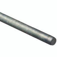 National Hardware N179-531 Threaded Steel Rod 1/2 Inch Zinc Plated 13 TPI By 36 Inch Zinc Plated