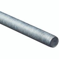 National Hardware N179-564 Threaded Steel Rod 7/8 Inch Zinc Plated 9 TPI By 36 Inch Zinc Plated