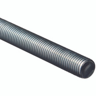 National Hardware N179-572 Threaded Steel Rod 1 Inch Zinc Plated 8 TPI By 36 Inch Zinc Plated