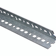 National Hardware N180-075 Slotted Angle 0.074 Thick 1-1/2 By 36 Inch Galvanized Steel