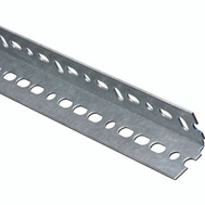 National Hardware N180-083 Slotted Angle 0.074 Thick 1-1/2 By 48 Inch Galvanized Steel