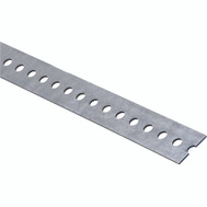 National Hardware N180-125 Slotted Flat Bar 0.074 Thick 1-3/8 By 36 Inch Galvanized Steel