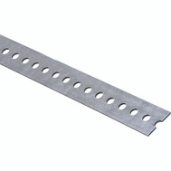 National Hardware N180-133 Slotted Flat Bar 0.074 Thick 1-3/8 By 48 Inch Galvanized Steel