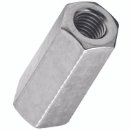 National Hardware N182-683 N347-054 Threaded Rod Coupler 3/8 Inch 16 TPI Zinc Plated Steel