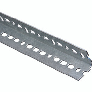 National Hardware N182-758 Slotted Angle 0.074 Thick 1-1/2 By 24 Inch Galvanized Steel