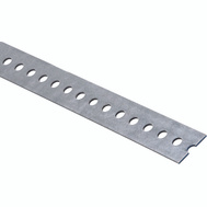 National Hardware N182-774 Slotted Flat Bar 1-3/8 By 60 Inch Galvanized Steel