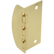 National Hardware N183-608 Flip Door Lock Brass