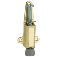National Hardware N183-632 Door Stop And Lock Brass Finish