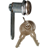 National Hardware N183-764 Door Drawer Utility Lock Keyed Differently 1/2 Inch Chrome Plated