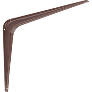 National Hardware N185-033 N218-636 S250-571 Utility Shelf Bracket 8 By 10 Inch Fruitwood