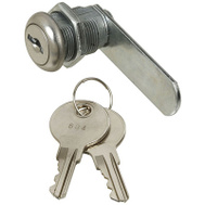National Hardware N185-280 Door Drawer Utility Lock Keyed Alike 1/2 Inch Chrome Plated